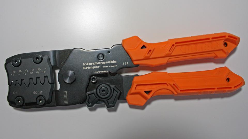 ENGINEER PAD-12 (精密圧着ペンチ)