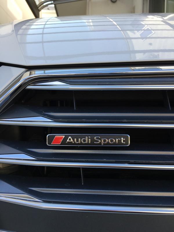Audi純正(アウディ) AudiSportエンブレム