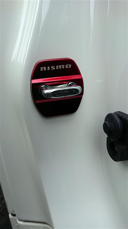 ヤフオク! NISMO ドアストライカー ステンレスカバー