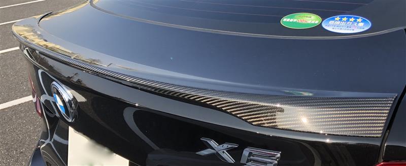BMW M PERFORMANCE カーボン リヤ トランク スポイラー