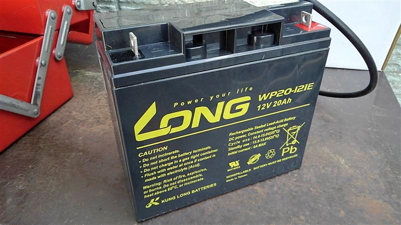 KUNG LONG BATTERIES WP20-12IE