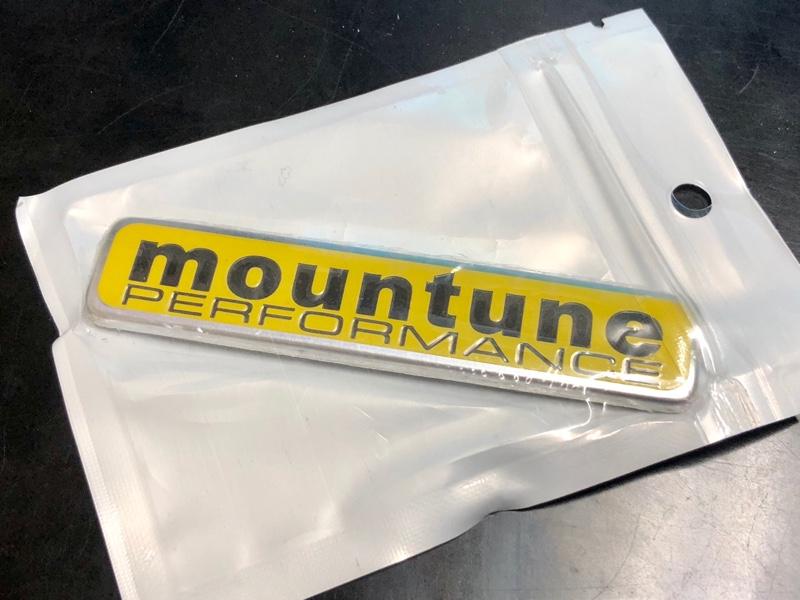 Mountune 3Dエンブレム
