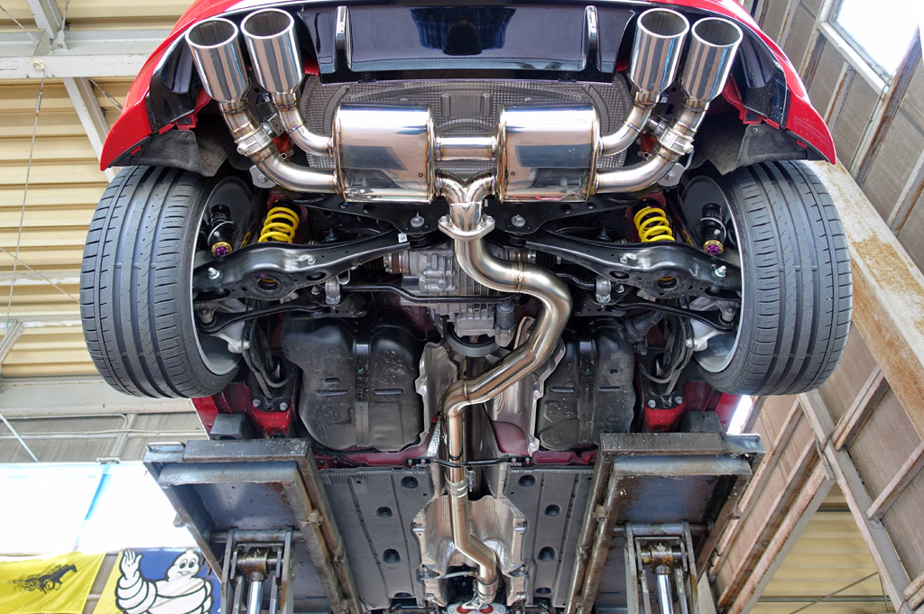 irom ExhaustSystem&competition Exhaust system VW Golf 7R