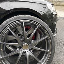 RS3 スポーツバックRAYS VOLK RACING G25 オプションカラー(ガンメタ)の単体画像