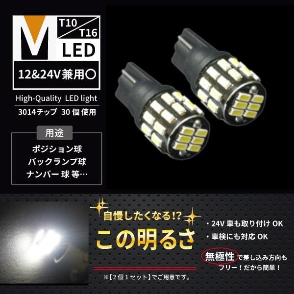 不明 T10 LEDバルブ ホワイト