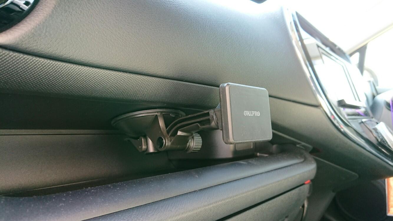 OHLPRO スマホスタンド車載ホルダー マグネット吸盤式 360度回転自由調節スマホ&タブレットホルダー両方対応用