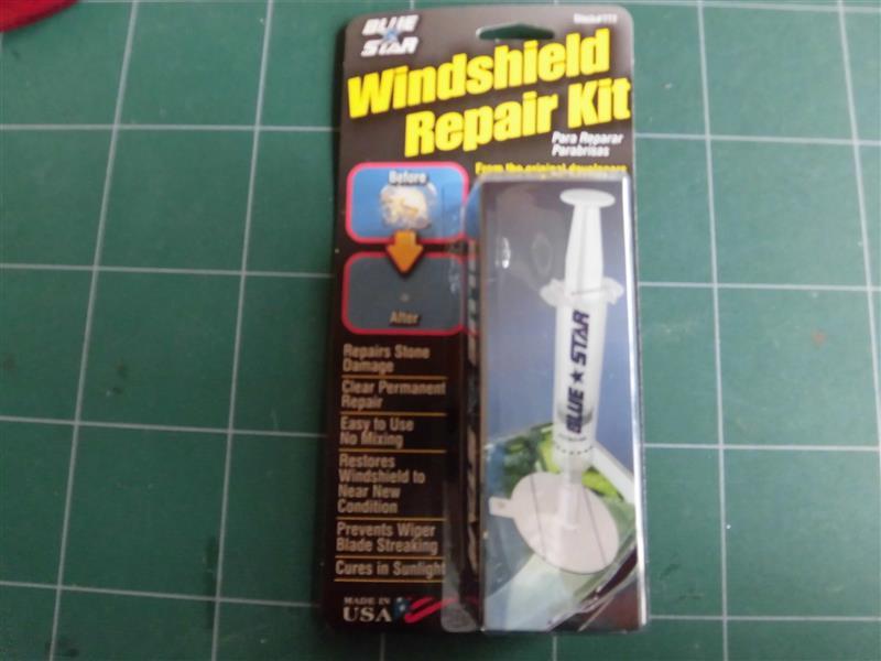 STRAIGHT / TOOL COMPANY STRAIGHT BLUE STAR Windshield Repair Kit