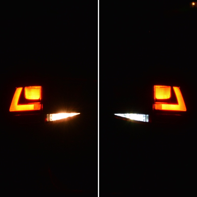 JAMIX GOLFVII ゴルフ7 バックランプ用LED 球切れ警告灯キャンセラー内蔵 Canbus