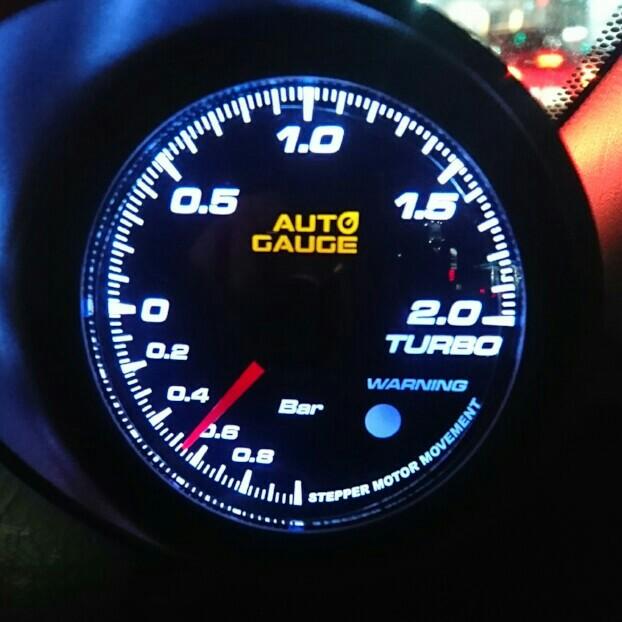 AutoGauge AUTO GAUGE ブースト計
