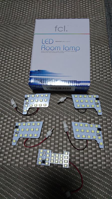 fcl セレナ C27  専用設計 LED ルームランプ セット