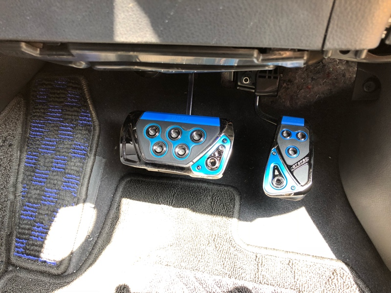 CAR MATE / カーメイト GT SPEC PEDAL SET AT-S ブルー / RP101BL