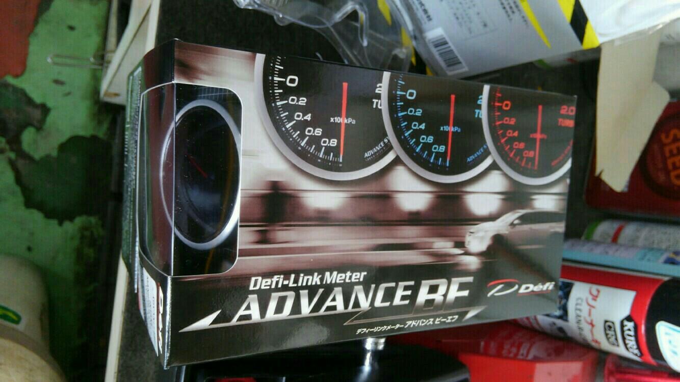 Defi Defi-Link Meter ADVANCE BF インテークマニホールドプレッシャー計(オートプロジェクト市川大野店オリジナル青針打ちかえ仕様)