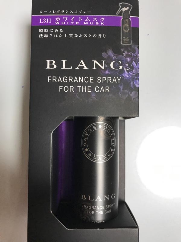 CAR MATE / カーメイト BLANG フレグランススプレー ホワイトムスク / L311