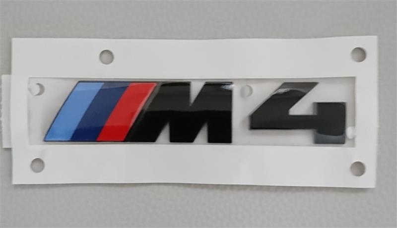 BMW(純正) M4 ブラックエンブレム
