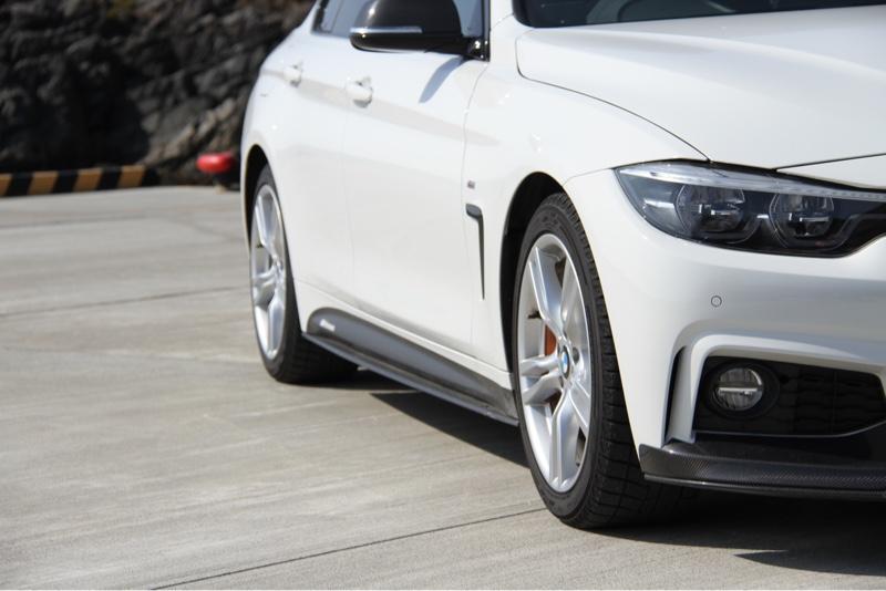 BMW M PERFORMANCE エアロダイナミックパッケージ サイドスカート