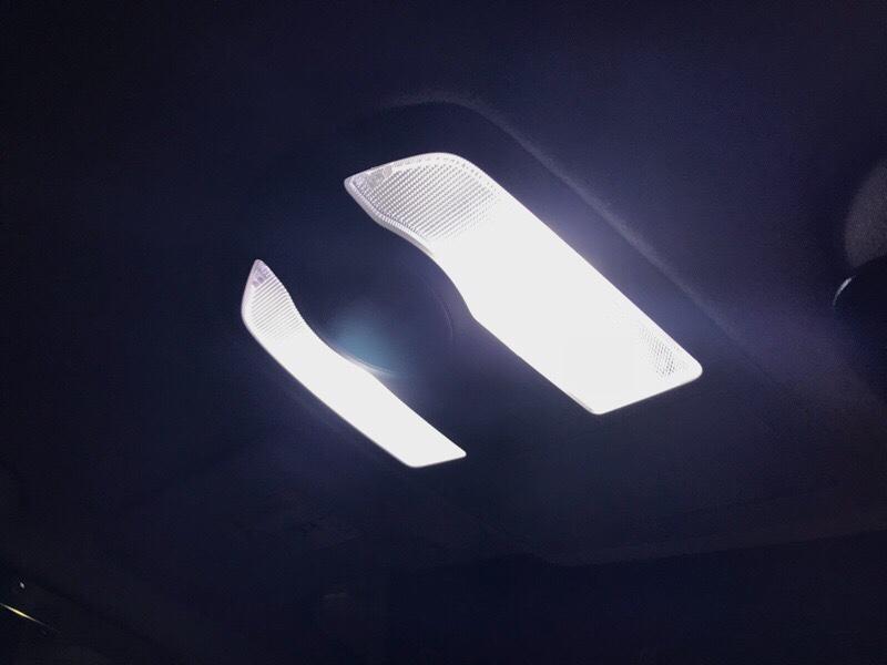 Fiver work ルームランプ白LED化...⑤