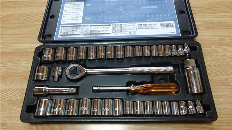 BAL / 大橋産業 40PCS ソケットレンチセット No.506