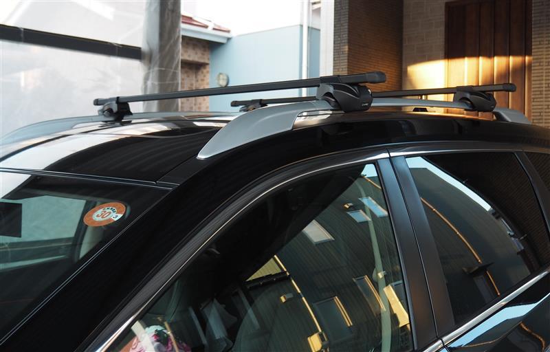 CAR MATE / カーメイト inno ベーシックバー 127cm ブラック INB127