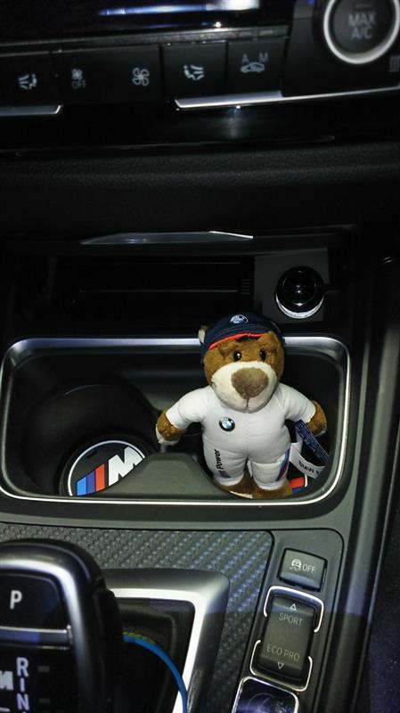 BMWモータースポーツ/M-line テディベア・キーリング