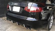 RS6 (セダン)SUXON RACING ワンオフストレートマフラーの全体画像