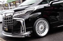 アルファードBBS SUPER-RSの単体画像