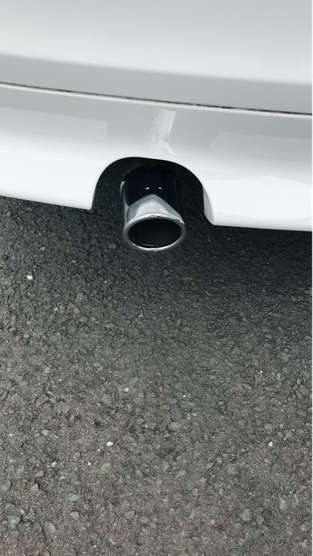BMW(純正) テールパイプトリム
