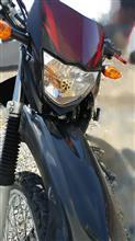 XTZ125Street Cat 改良鍍金版 H4 バイク用ledヘッドライト の全体画像