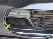 コルベット クーペメーカー・ブランド不明 Grille Brake Cooling Ducts Mesh Screens - Stainless Steelの単体画像