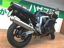GSX-R400RWinningRun製? チタンマフラーの単体画像