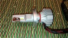 CB250F MC43不明 LED H4ヘッドライトの全体画像
