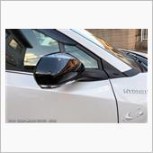 Grazio&Co. トヨタ純正流用 ドアミラーカバー ブラックマイカ