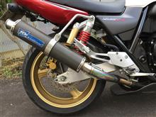 CB400 SUPER FOUR HYPER VTEC spec3テクニカルスポーツ フルエキゾーストマフラーの単体画像