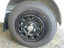 NT100クリッパー太平タイヤ TT Dスチール 12インチの単体画像