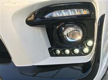 スカイライン ハイブリッドBLITZ AERO SPEED R-Concept フロントバンパースポイラーの全体画像