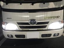 カムロードPHILIPS X-treme Ultinon LED H4 LED Headlight 6000Kの単体画像