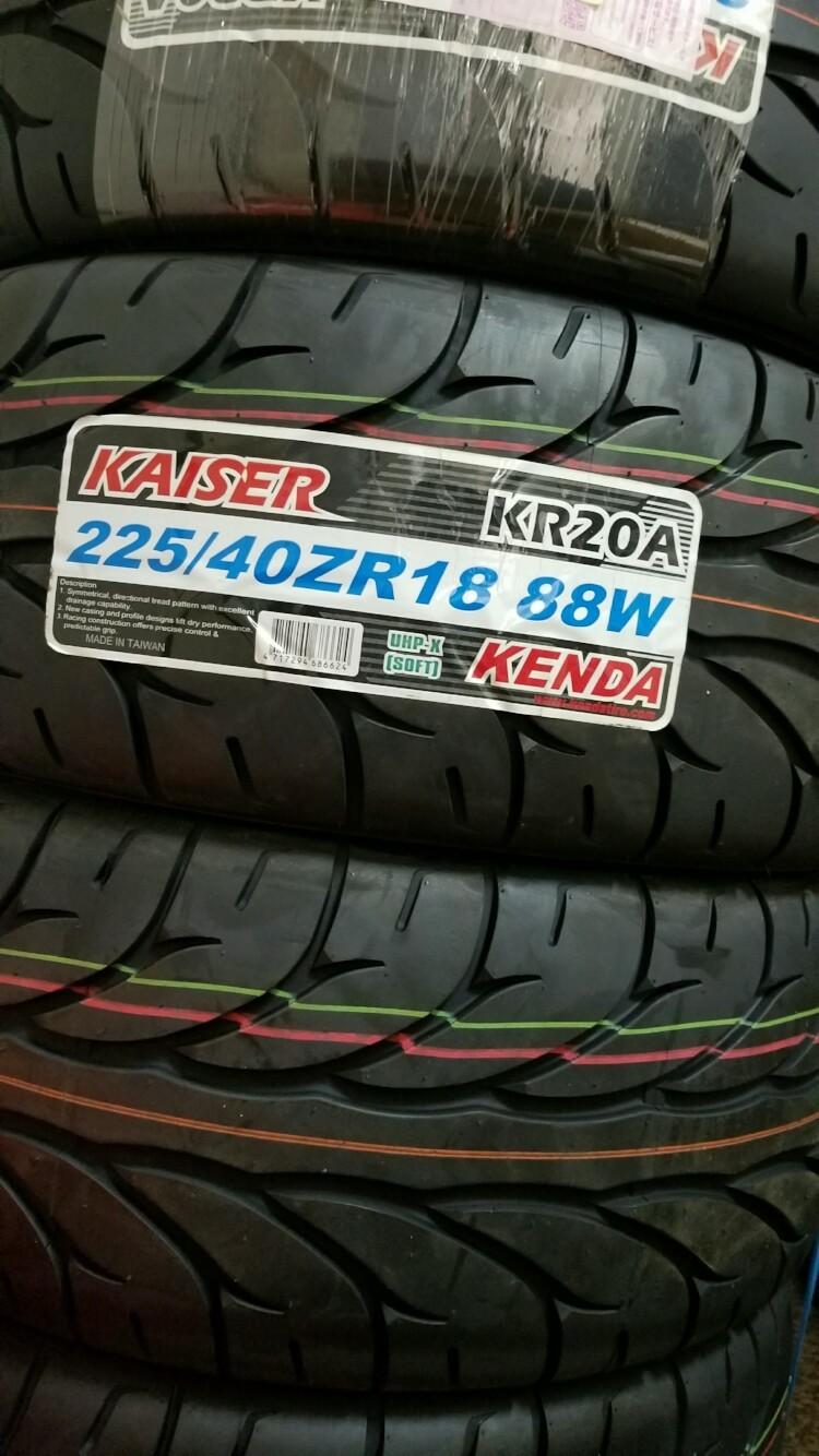 KENDA KAISER KR20A 225/40ZR18??