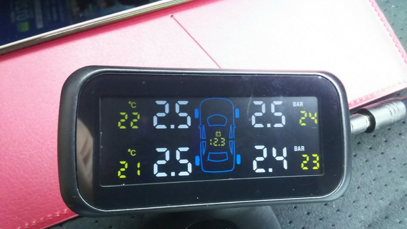 OBEST TPMS 空気圧監視システム 外部センサー