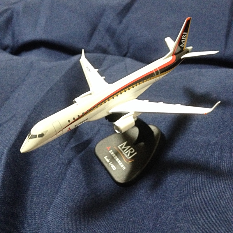 TOMYTEC 旅客機コレクション MRJ90 1号機