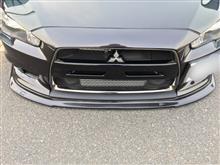 ランサーエボリューションXAPR Performance APR Carbon Fiber Front Air Damの全体画像