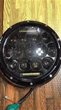 バリオス不明 7インチLEDヘッドライトの全体画像