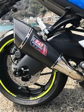 GSX-S1000F ABSヨシムラ Slip-On R-11 サイクロン 1エンド の単体画像