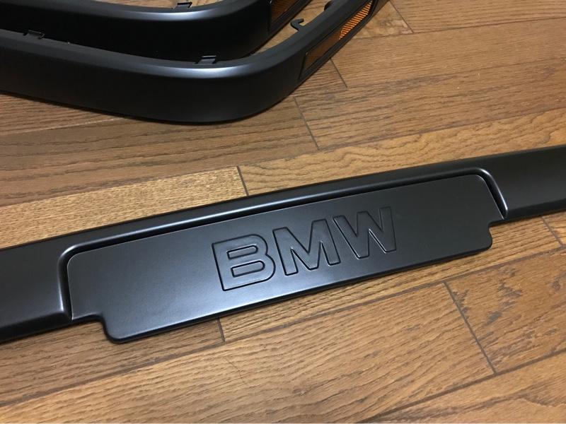 BMW(純正) ライセンスレスモール