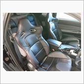 SUPERIOR ブラックカーボンルックシートカバー
