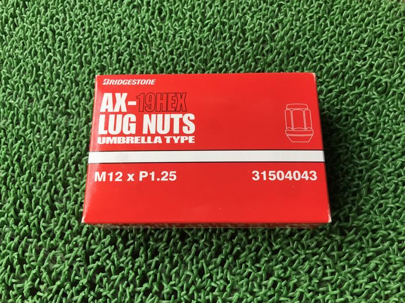 BRIDGESTONE AX-19HEX LUG NUTS UMBRELLA TYPE