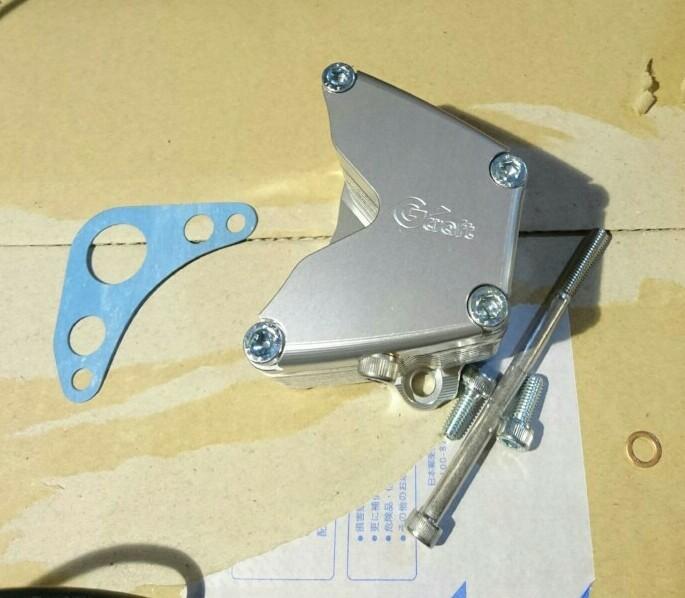 G'craft ビレットオイルクーラー 10段