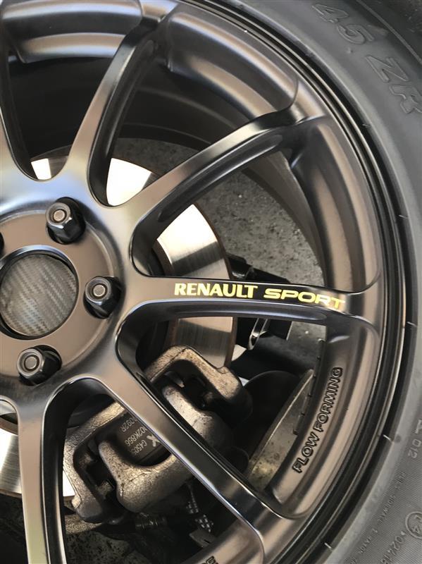 ヤフオク Renault Sport ステッカー