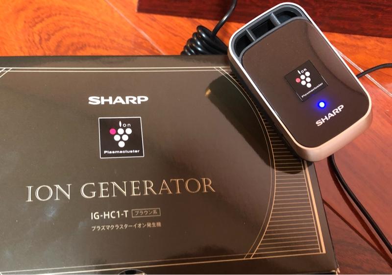 SHARP プラズマクラスターイオン発生機 IG-HC1-D