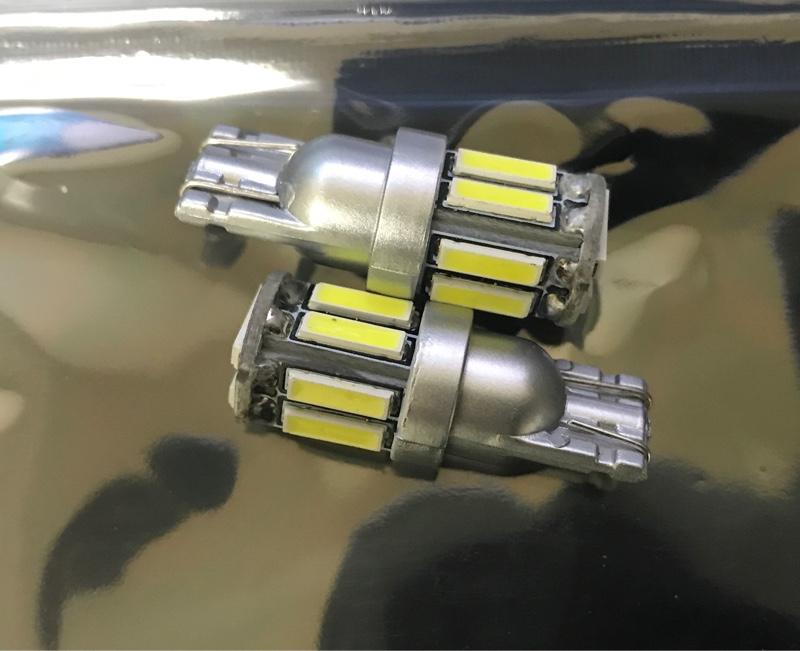 LIMEY T10 LED バルブ ホワイト