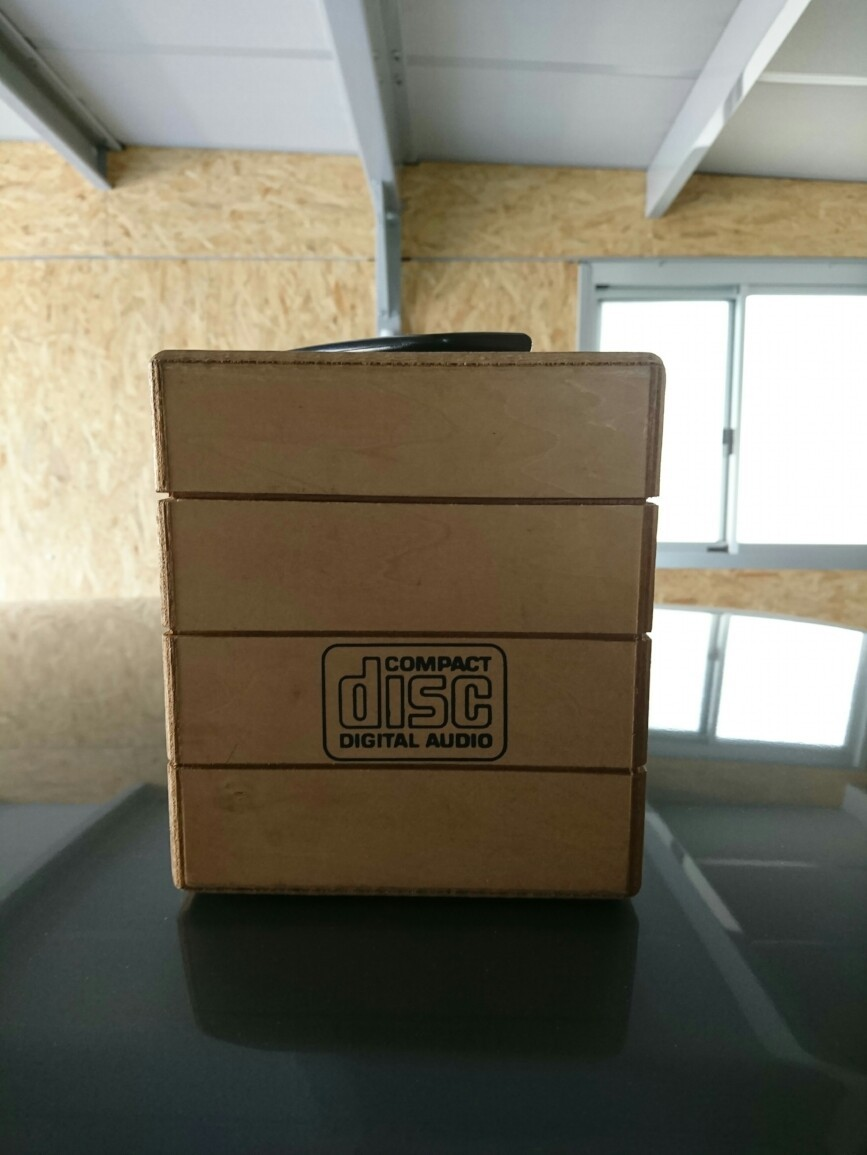 当時もの CD収納Box