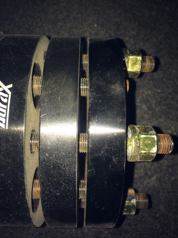 不明 ワイドトレッドスペーサー 20mm